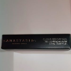 Anastasia Brow Gel Clear TRAVEL SIZE .085 Fl oz